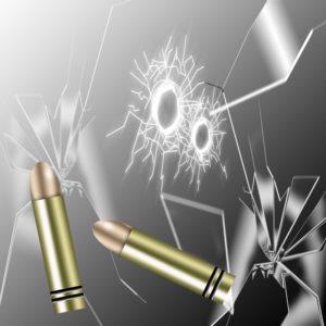 ガラスと銃弾