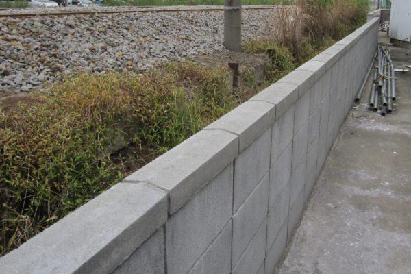 ブロック塀 施工