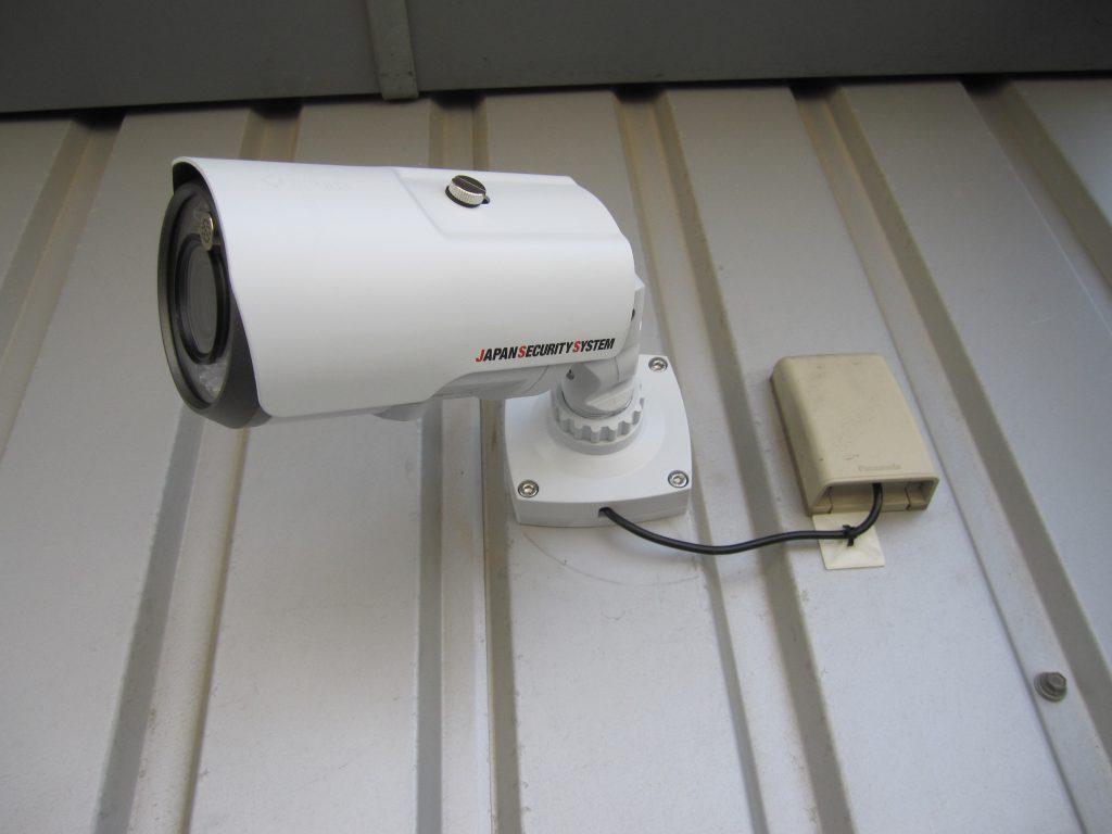バレット型監視カメラ 日本防犯システム