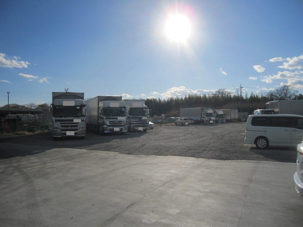 大型駐車場の防犯対策