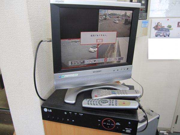 更新前:他社設置のLGエレクトロニクスのデジタルレコーダー