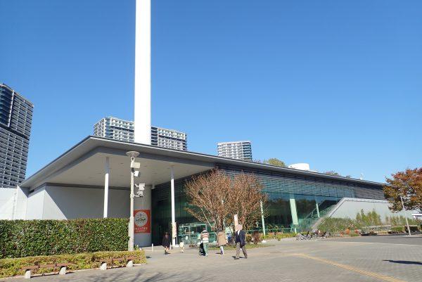 防災体験学習施設「そなエリア東京」外観