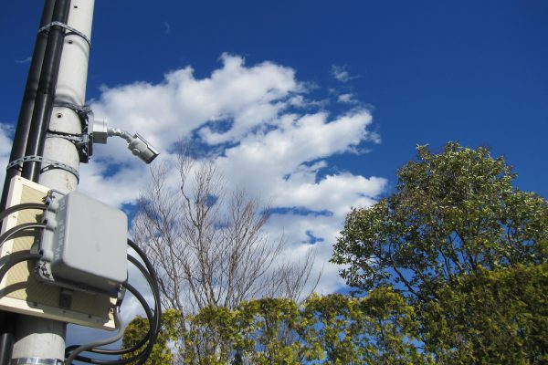 邸宅の監視カメラシステム更新