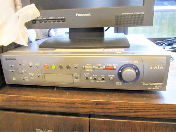 更新前:既存Panasonicデジタルレコーダー・モニター