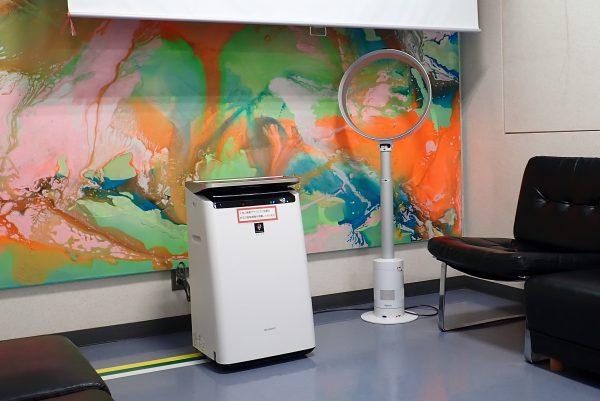 群馬県内医療施設での次亜塩素酸噴霧による空気清浄実例