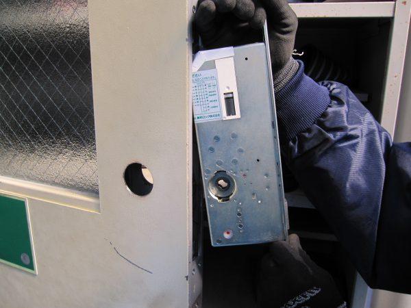 出入管理システム・MIWA「モーター式電気錠」