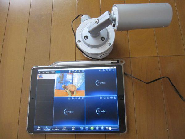 4G・LTE通信内蔵ネットワークカメラ「IPC-16LTE」ソリッドカメラ事前設定