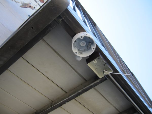 4G・LTE通信内蔵ネットワークカメラ「IPC-16LTE」ソリッドカメラ用ジャンクションボックス設置工事
