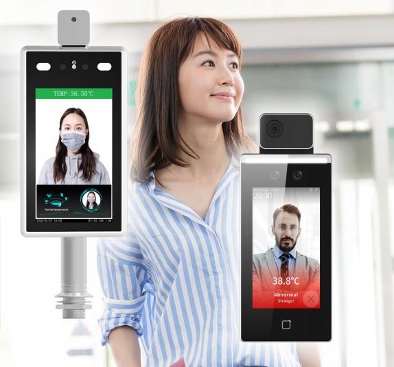 タブレット型サーマルカメラ「DS-K1TA70MI-T」