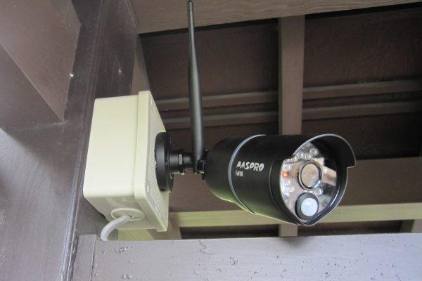 マスプロ社「ワイヤレスHDカメラ・WHC7M3-C」設置