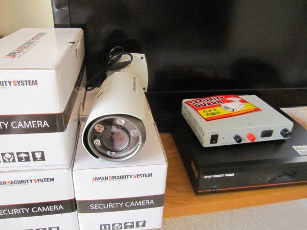「日本防犯システム」高画質監視カメラ:JS-CA1020&デジタルレコーダー:JS-RA4004 アルファセキュリティ社内での設定開始