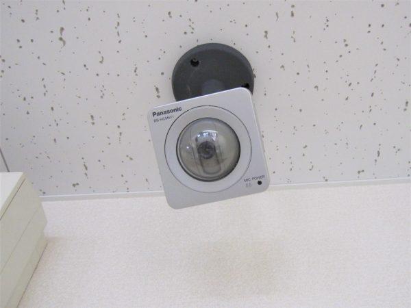 教育施設・学童保育の防犯対策:既存故障したPanasonicネットワークカメラ