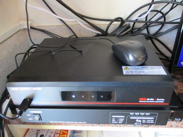 邸宅・ガレージの防犯対策:デジタルレコーダーの設定