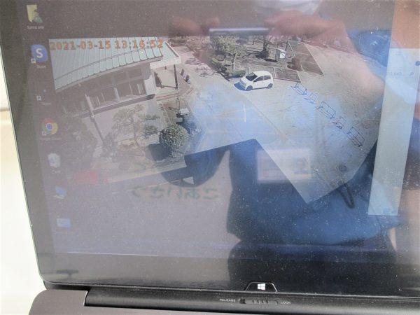 録画機内蔵防犯カメラ画角調整:日本防犯システム「PF-CW1025」
