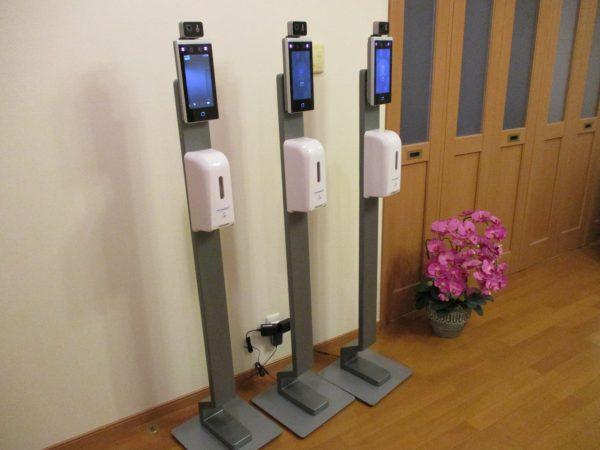 薬局・医療施設の新型コロナ対策: タブレット型サーマルカメラ の設定完了