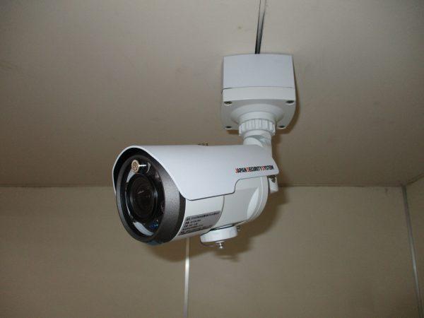 食品工場「食の安全」「生産管理」監視カメラ設置完了