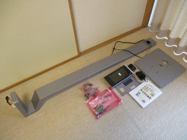 企業・事務所の新型コロナ対策!タブレット型サーマルカメラ「DS-K1TA70MI-T」:組立前