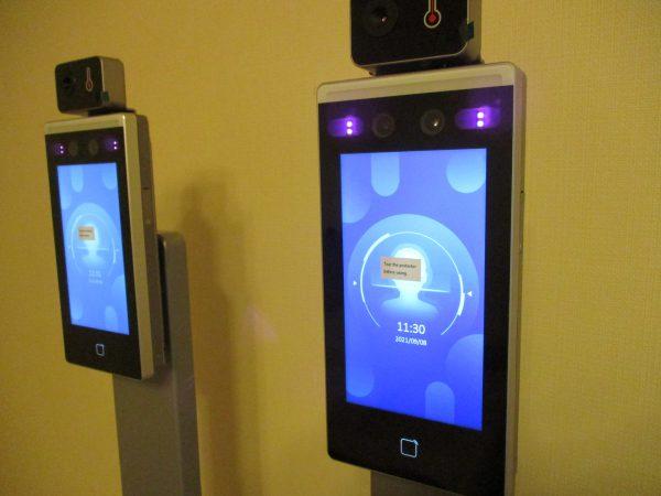 企業・事務所の新型コロナ対策!タブレット型サーマルカメラ「DS-K1TA70MI-T」:設定中