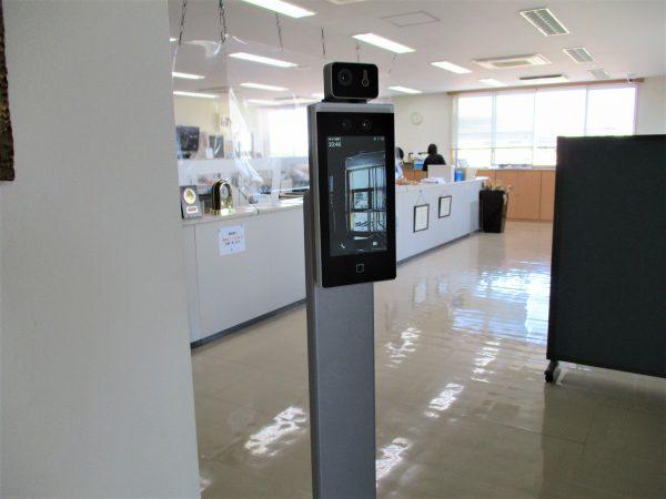 企業・事務所の新型コロナ対策!タブレット型サーマルカメラ「DS-K1TA70MI-T」:群馬県内食品会社事務所